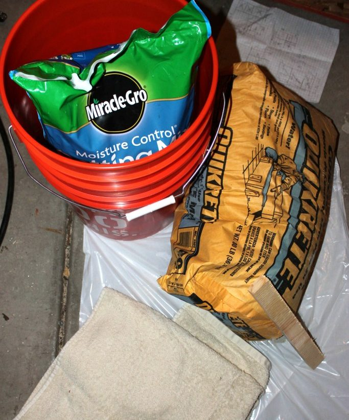 Things Required to make Concrete Planter