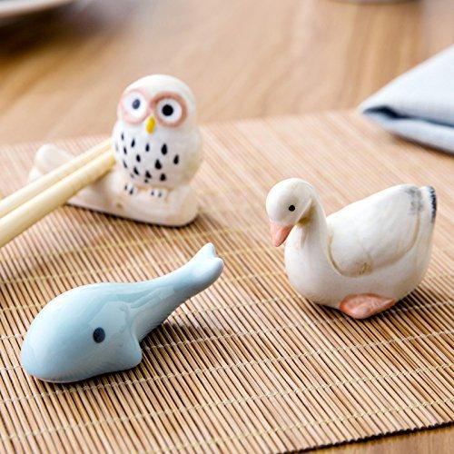 Goose Pattern Chopstick Rest