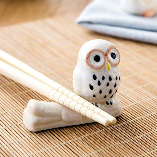 Owl Shaped Chopsticks Rest