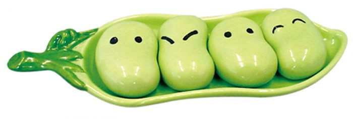Peas in the Pod Chopstick Rest