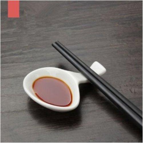 White Porcelain Chopstick Rest