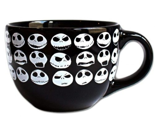 Ceramic Jack Face Halloween Coffee Mug