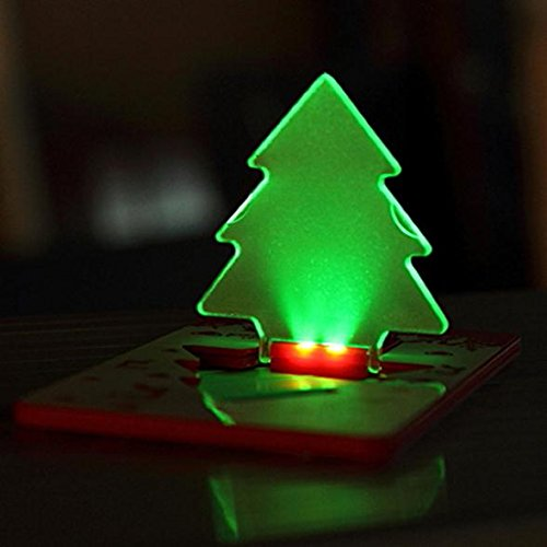Christmas Tree Shape Pocket Candle