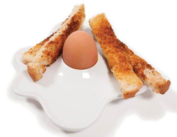Cool Ceramic Boiled Egg Holder