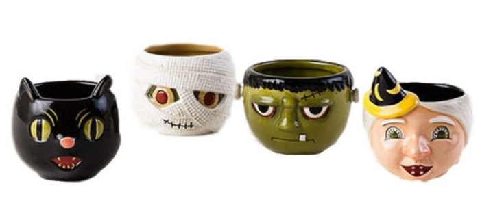 Cute Halloween Characters Coffee Mugs