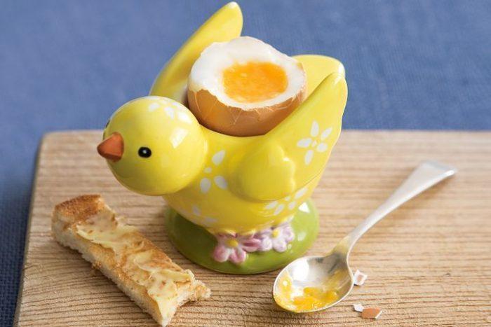 Decorative Chick Shaped Egg Holder