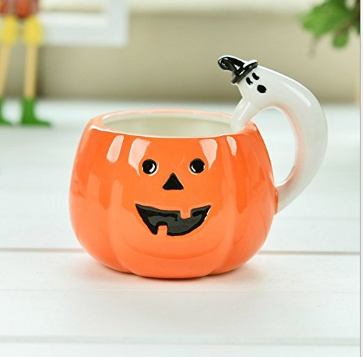 Decorative Cool Pumpkin Halloween Coffee Mug