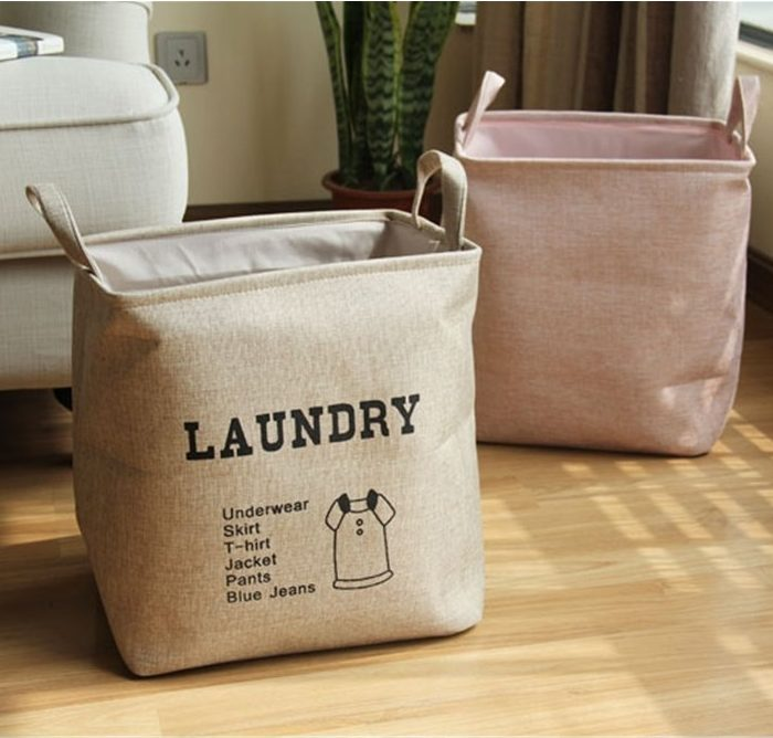 Durable Cotton Canvas Laundry Hamper