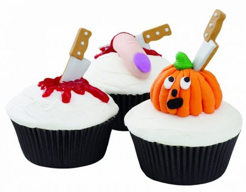 Edible Icing Knives Halloween Party Decor