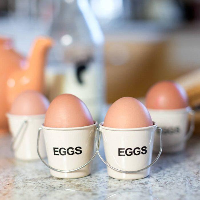 Fun Bucket Boiled Egg Holders
