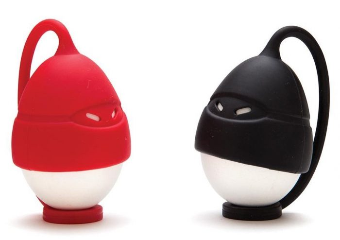 Red and Black Ninja Design Boiled Egg Holders
