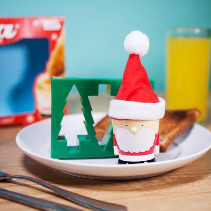 Santa Shaped Boiled Egg Holder