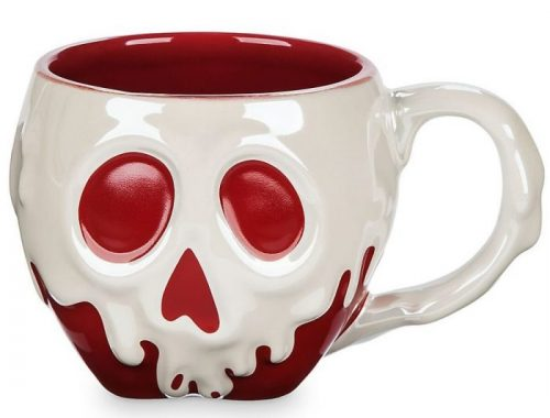 Snow White Poisoned Apple Sculptured Halloween Coffee Mug