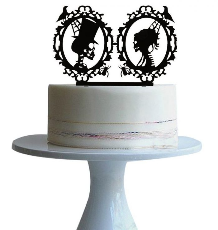 Wedding Cake Topper Halloween Party Decor