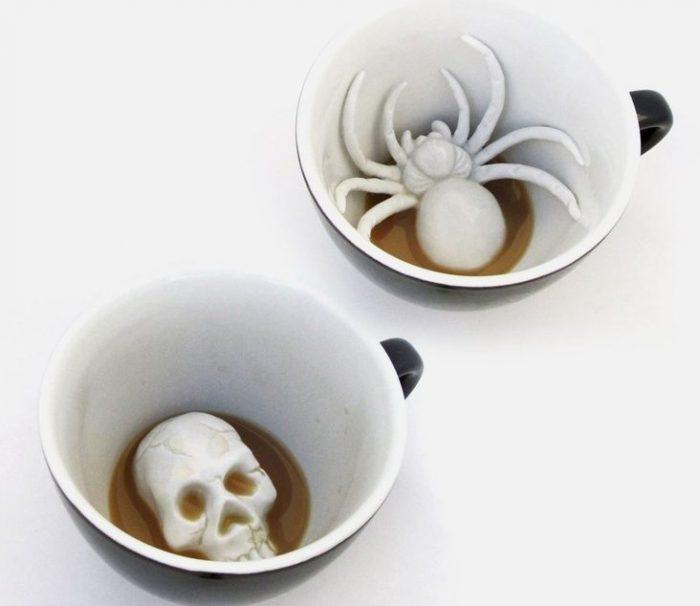 halloween creature mug