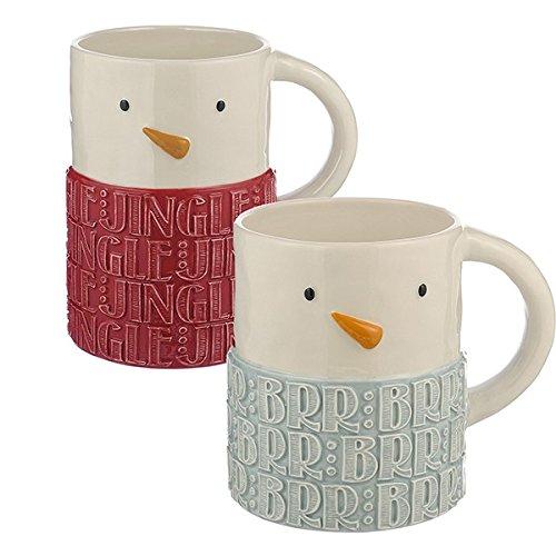 Attractive Snowman Christmas Mugs