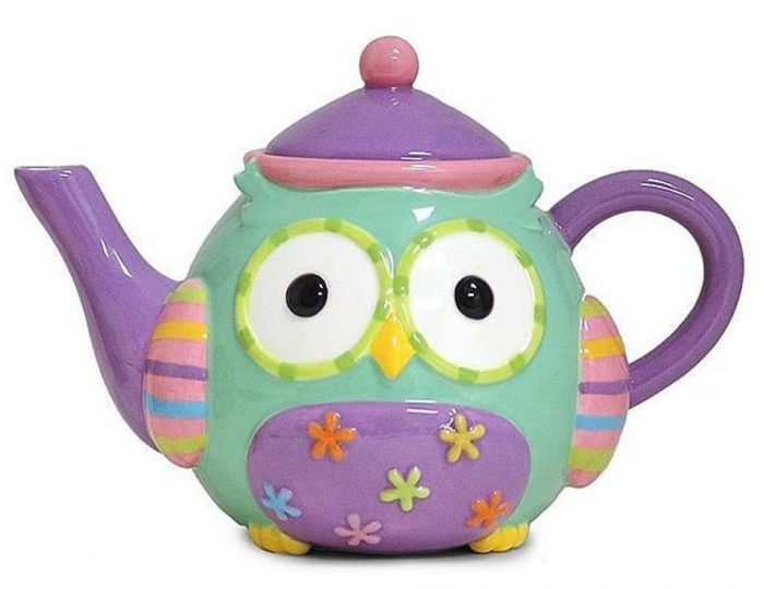 Attractive Whimsical Teapot