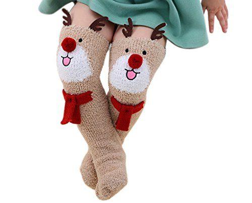 Awesome Fuzzy Christmas Socks