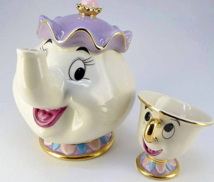Beauty and The Beast Mrs. Potts Chip Teapot