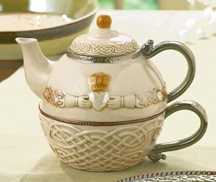 Claddagh Stacking Teapot