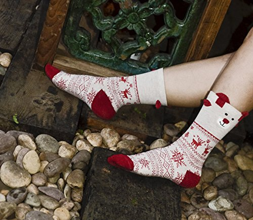 Classic Design Funny Christmas Socks