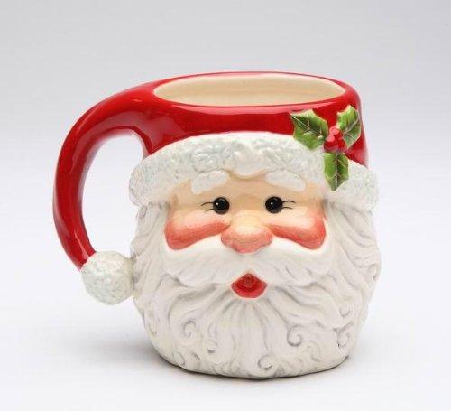 Classic Santa Head Christmas Mug