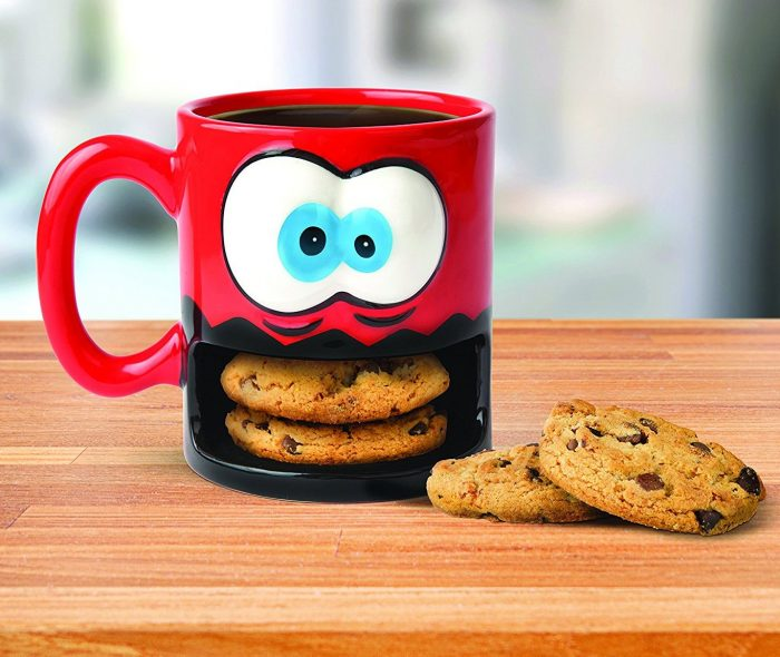 Crazy Monster Cookie Holder Mug