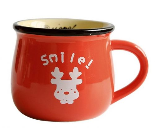 Cute Cartoon Animal Christmas Mug