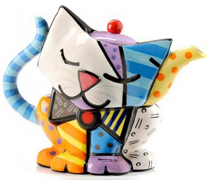 Cute Cat Design Teapot