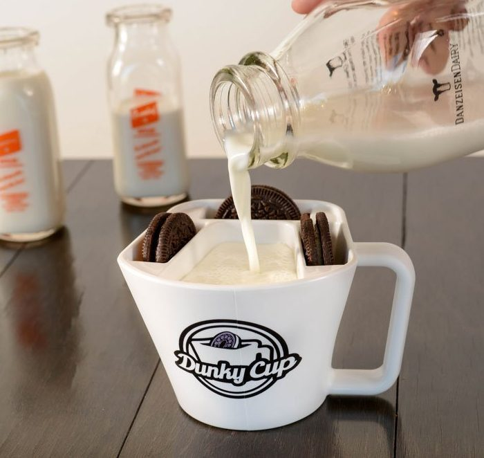 Durable Cookie and Milk Cookie Holder Mug