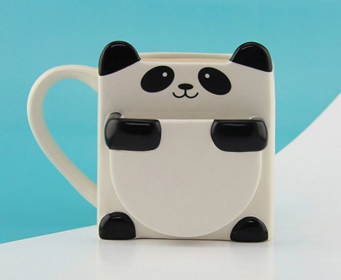 Fun Panda Hug Cookie Mug