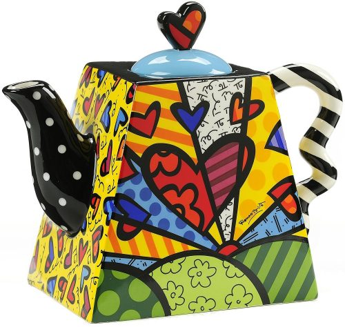 Funky and Colorful Teapot