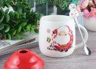 Happy Santa Claus Christmas Mug