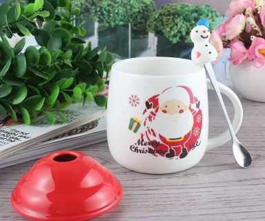 Happy Santa Claus Christmas Mug