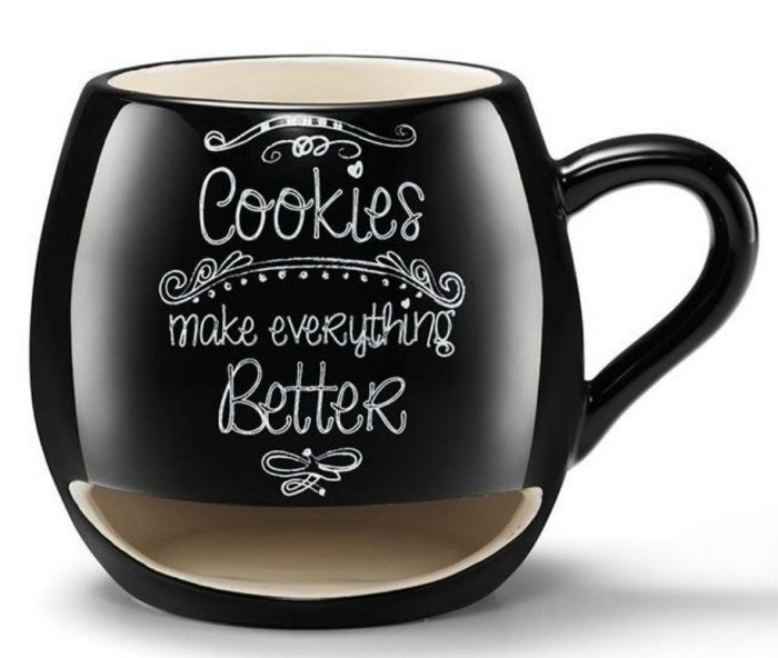 Make Everything Better Cookie Holder Mug