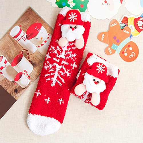 Stylish Baby Cartoon Christmas Socks