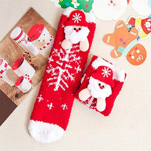 Stylish Baby Cartoon Christmas Socks