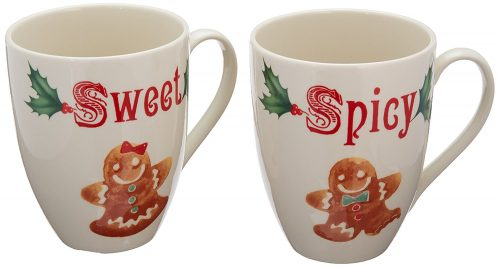 Sweet and Spicy Christmas Mug Set