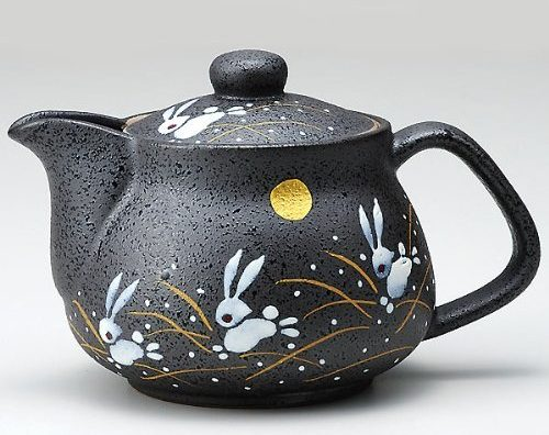 Traditional Rabbit Pattern Teapot