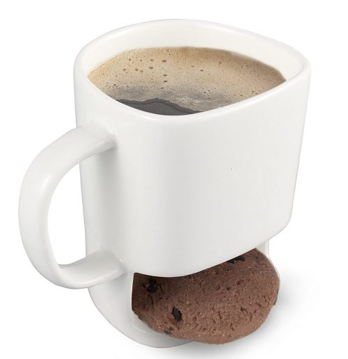 Unique Humanized Design Cookie Holder Mug