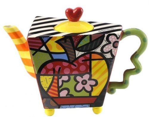 Colorful Apple Design Tableware