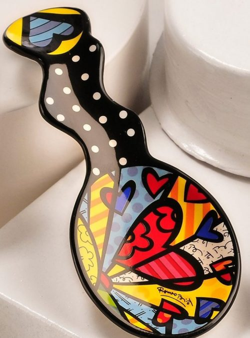 Heart Design Spoon Rest Tableware