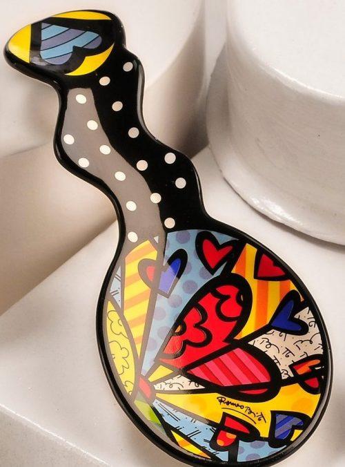 Heart Design Spoon Rest Tableware