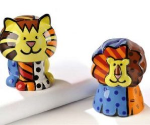 Vibrant & Colorful Romero Britto Tableware
