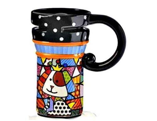 Royalty Dog Design Travel Mug Tableware