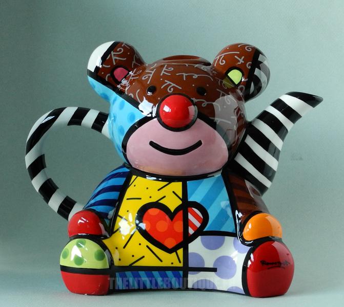 Teddy Bear Design Teapot Tableware