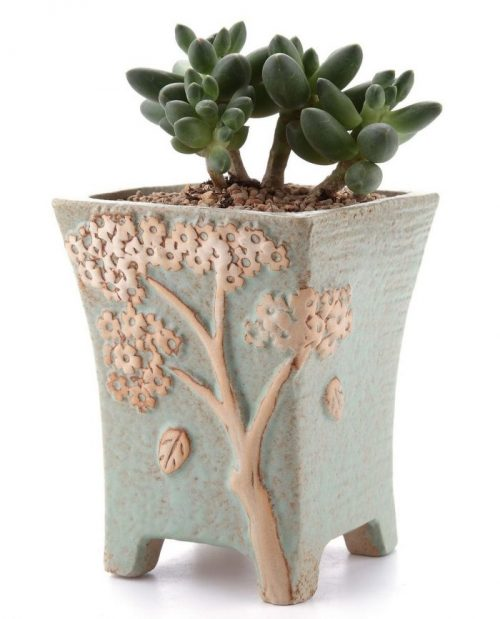 Embossed Pattern Planter