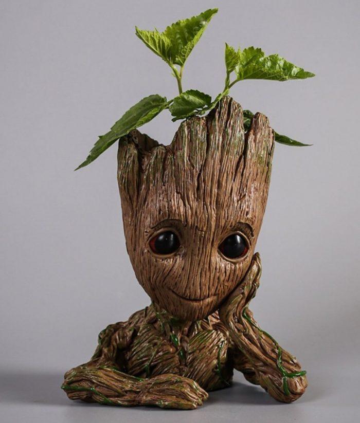 Fun Treeman Baby Groot Star Planter