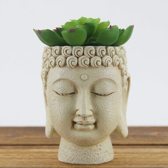 Peaceful Buddha Face Planter