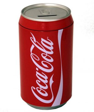 Attractive Coca Cola Can Bank